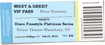 Disco freestyle concert event tickets on sale for july 21 2018 disco freestyle concert event tickets m4hsunfo